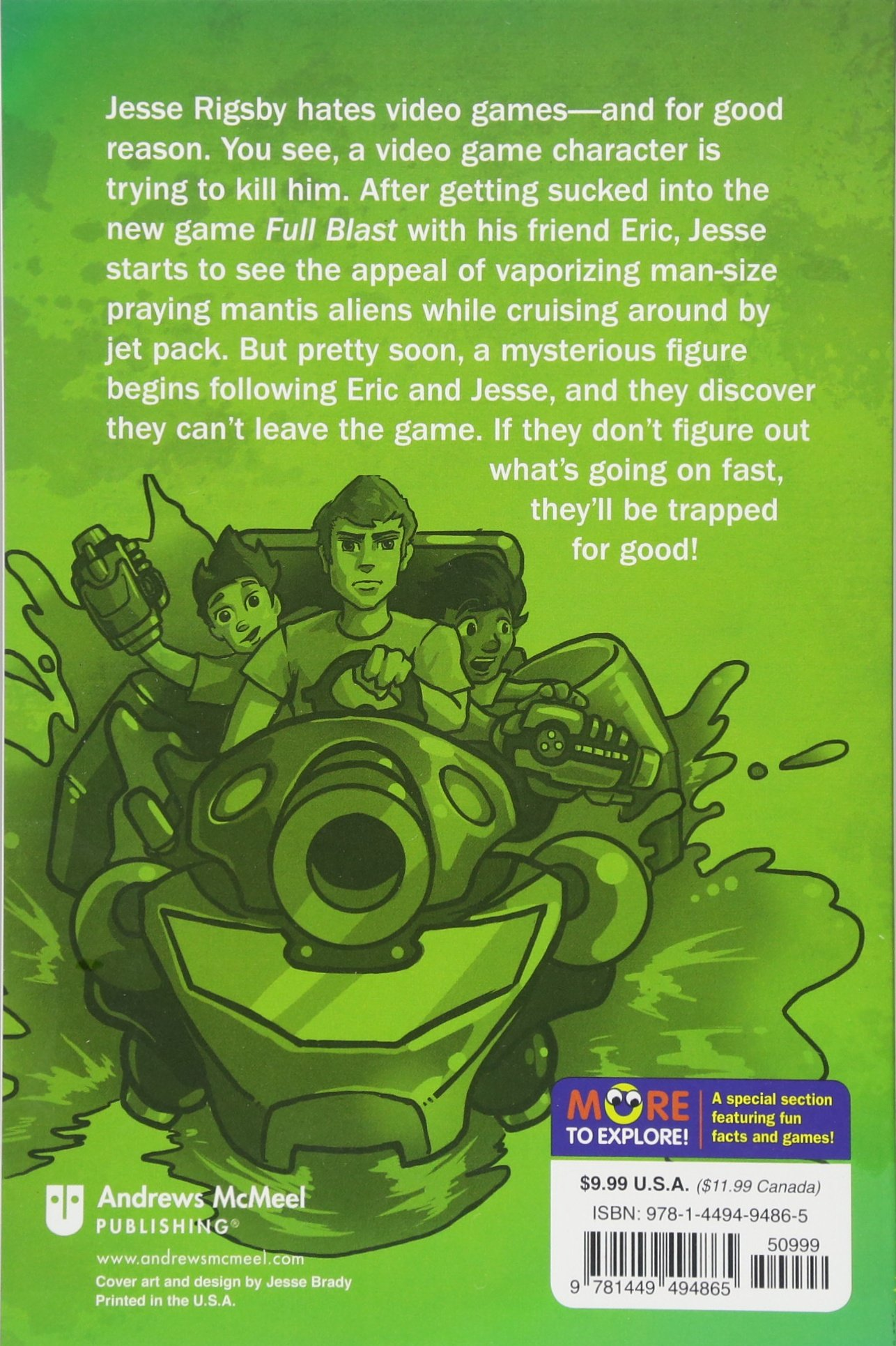 Trapped in a Video Game (Book 1) by Andrews McMeel Publishing (Image #2)