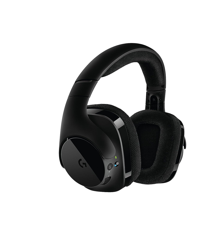 Logitech G533 Binaural Diadema Negro - Auriculares con micrófono (PC/Juegos, 7.1 Canales, Binaural, Diadema, Negro, Inalámbrico): Amazon.es: Informática