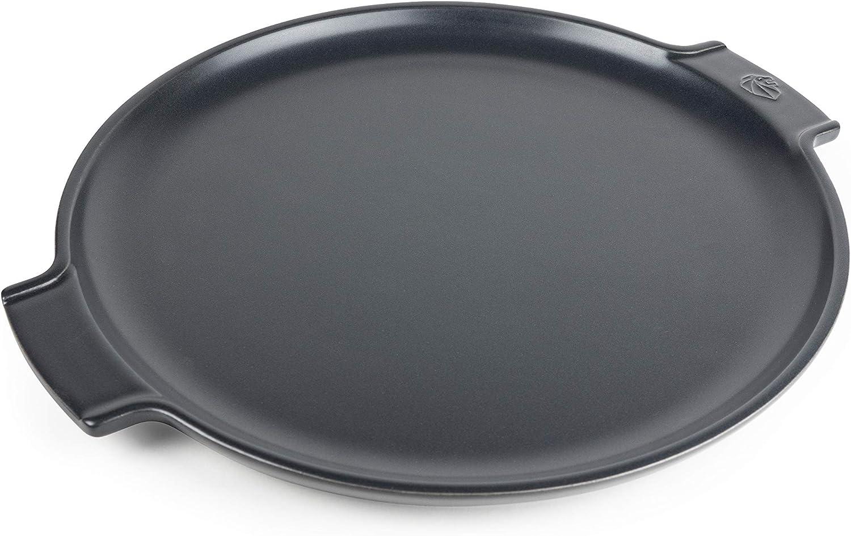 "Peugeot 60497 Appolia Pizza Stone, 13"" diameter, 12.2"" Interior, Slate"