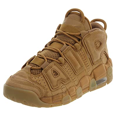 Nike Air More Uptempo SE Big Kid s Shoes Flax Gum Light Brown Lin 922845 ce9a770f3