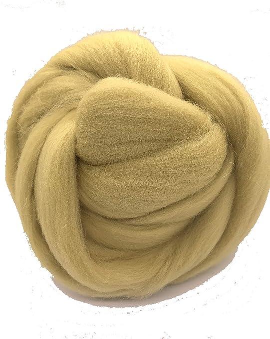 Shep del desierto camello marrón lana (Merino, cable de Spinning ...