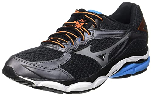 cb62ef6338 Mizuno Herren Wave Ultima 7 Low-top, grau/blau, 44.5 EU: Amazon.de ...