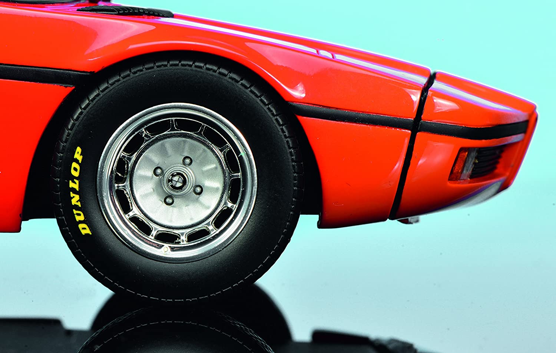 Amazon.com: 1972 BMW Turbo X1 E25 Orange 1/18 Model Car by Schuco 450008900: Toys & Games