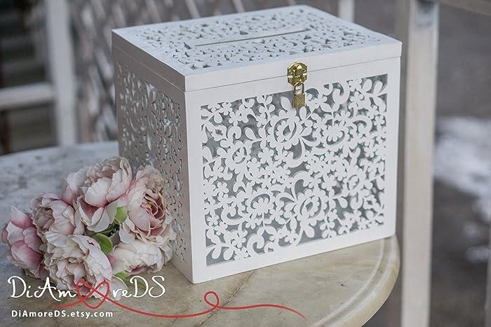 Amazon Com Wedding Card Box Box With Card Slot Love Story