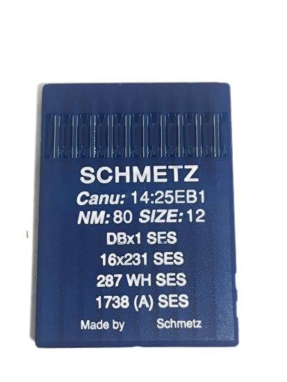 Amazon Schmetz Industrial Sewing Machine Ball Point Needles Interesting Industrial Sewing Machine Needle Sizes