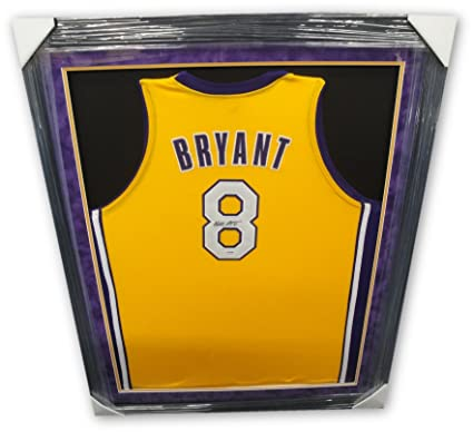 the best attitude 3dbe7 c11e2 Kobe Bryant Hand Signed Autograph #8 Yellow Jersey Lakers ...