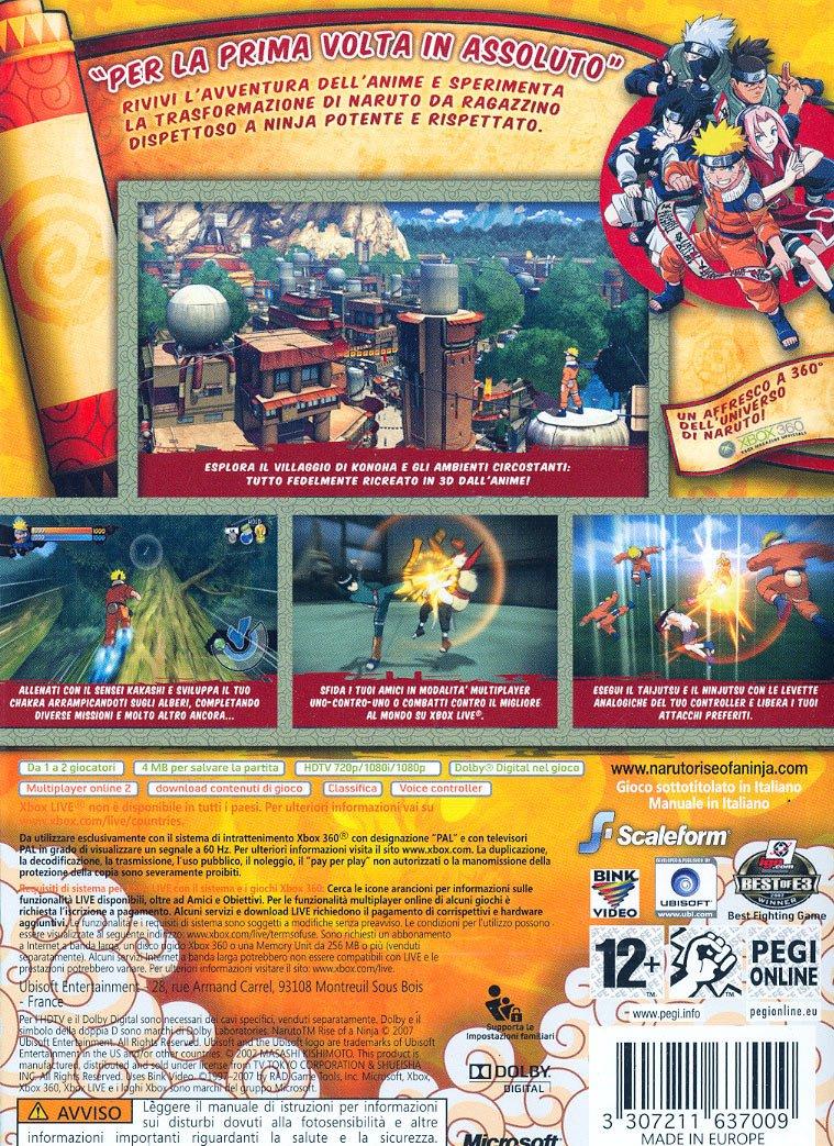 Naruto Rise of a Ninja CLS [Importación italiana]: Amazon.es ...