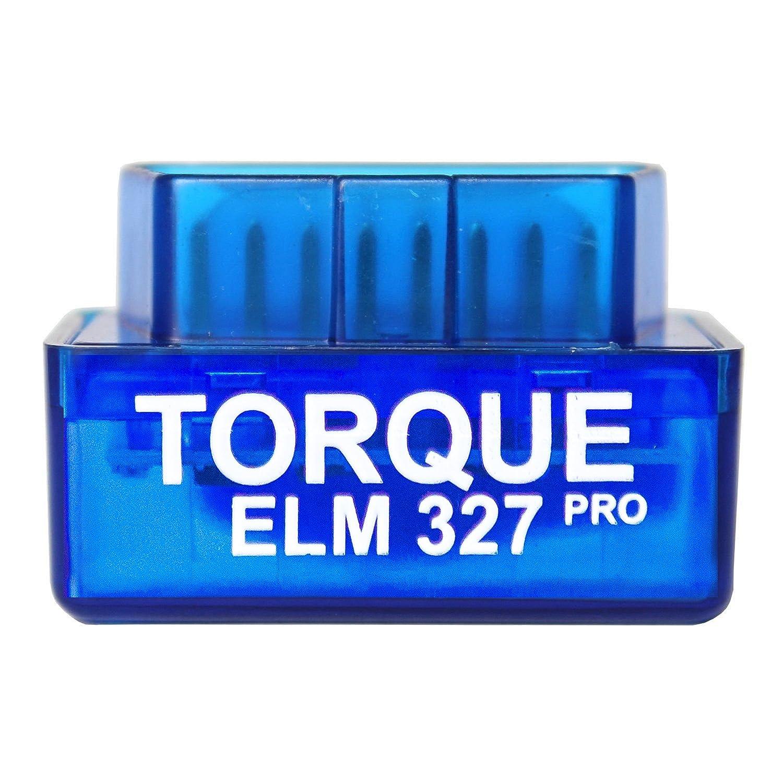 Torque Pro Elm 327, Lettore codice di Errore Bluethooth OBDII OBD 2, Accessorio per Fotocamera e registratore, Solo per Android ARH Auto Accessories 6458603513276
