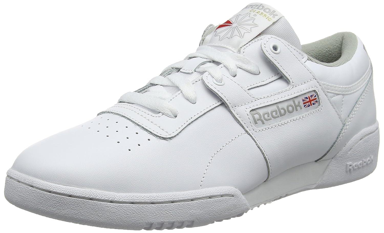 Reebok Herren Workout Low Fitnessschuhe, Weiß (Int Weiß grau 000), 000), 000), 38.5 EU 449cf8