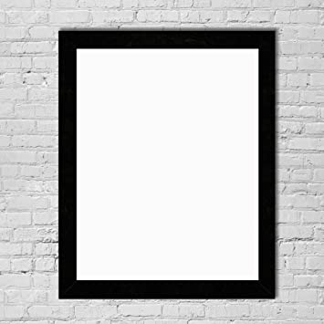 inked and screened 18x24 custom black print frame poster frame picture frame