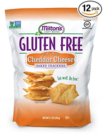 Milton de Craft Bakers, sin gluten Baked Crackers Queso ...