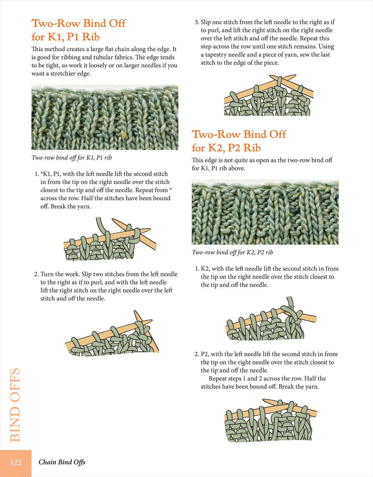 Cast On, Bind Off: 211 Ways to Begin and End Your Knitting: Cap ...
