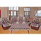 The Decor Hub Velvet 18 Piece Sofa Cover