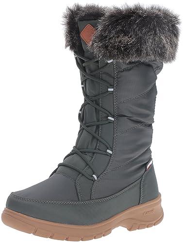 Kamik Women's Yonkers Snow Boot, Khaki, ...