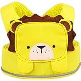 Trunki ToddlePak - Fuss Free Toddler Walking Reins & Kids Safety Harness – Leeroy Lion (Yellow)