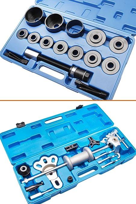 Extractor para discos Buje de rueda Extractor de rodamientos Buje de rueda + Extractor