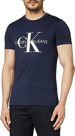 Calvin Klein Iconic Monogram SS Slim tee Camiseta para Hombre