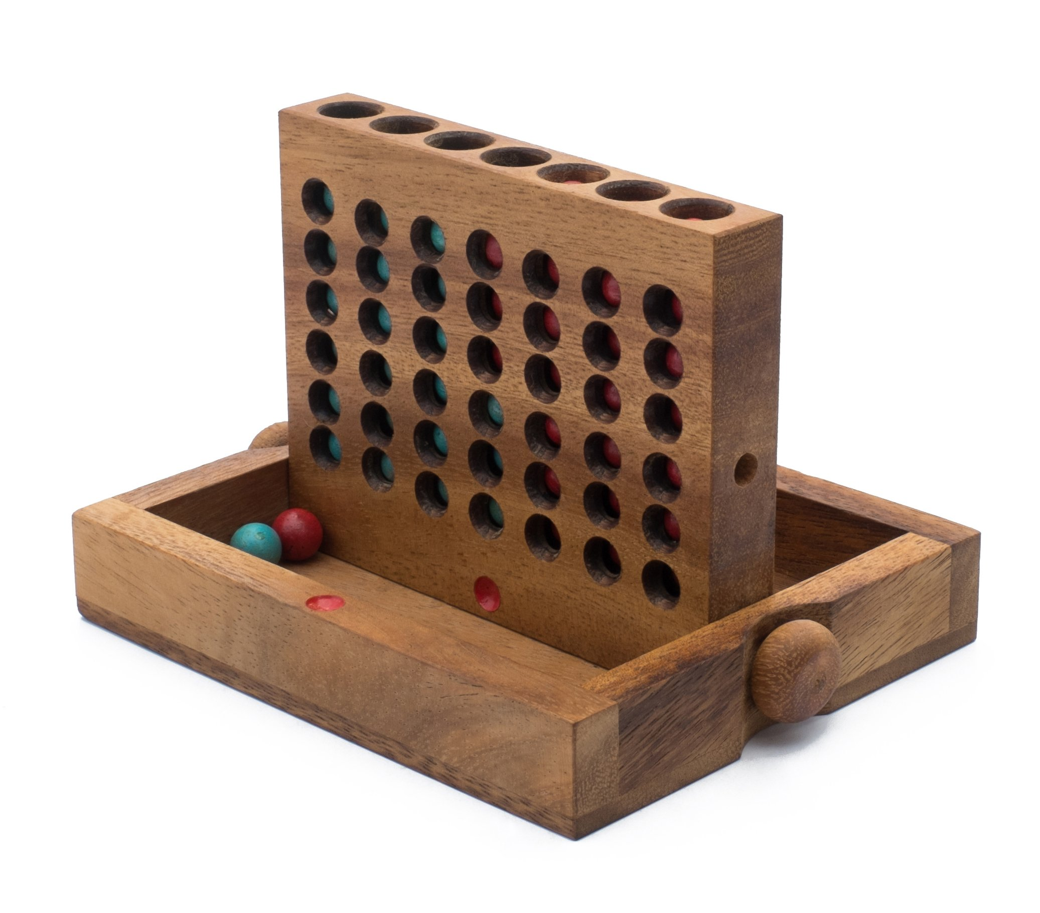 Penthouse Apartments: Handmade & Organic Traditional Wooden Game for Adults from SiamMandalay with SM Gift Box(Pictured)