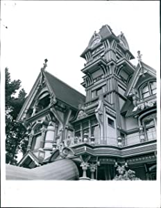 Vintage Photos 1966 Carson Mansion Eureka Ca Tower Victorian Architecture William 7X9