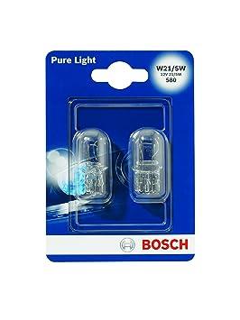 Bosch 1987301079, Luces de Freno W21 / 5 W.: BOSCH: Amazon.es: Coche y moto