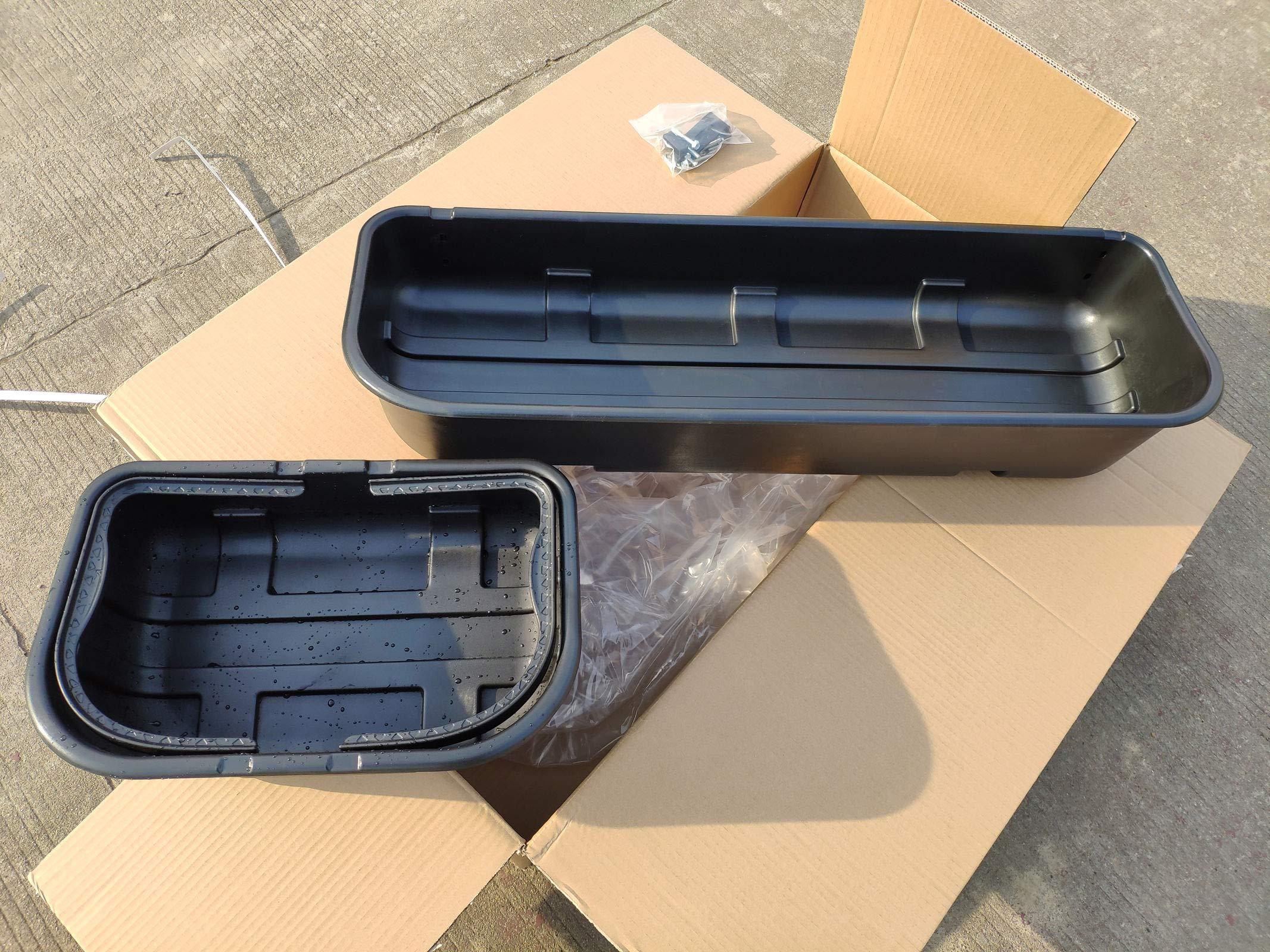 syppo Black Underseat Storage Box Detachable Style (for 2015-2019 Ford F150 Super Crew Cab) by syppo