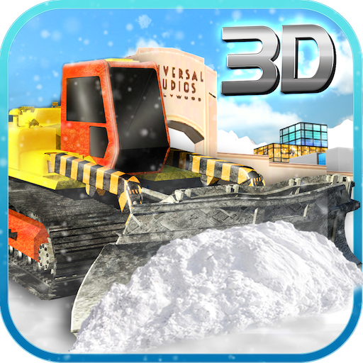 Snow Plow Excavator Truck Driver Simulator 3D: Extreme  SnowFall Real Truck Rescue Adventure Survival Mission Games Free  For Kids 2018 ()