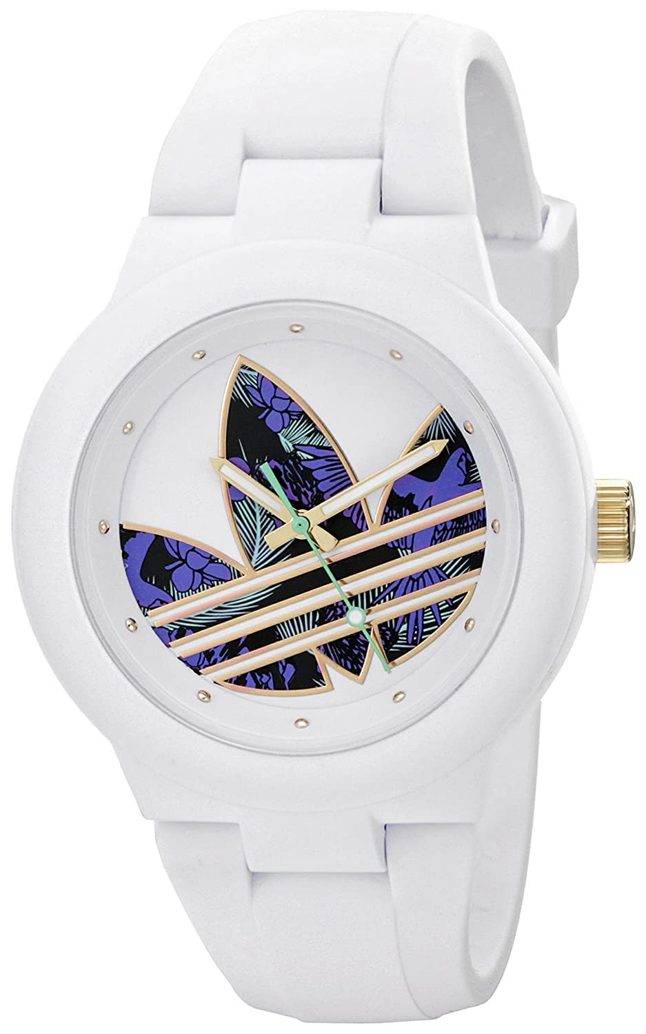 Adidas Watches For Women Adh3017 Aberdeen Red Dial Rubber Strap Womens Adh White Stainless Steel Watch With Polyurethane Band 937x1500