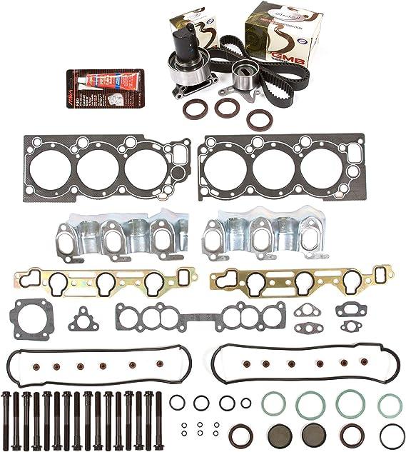Evergreen HSTBK2030 Head Gasket Set Timing Belt Kit Fits 88-92 Toyota 4Runner Pickup 3.0 SOHC 3VZE