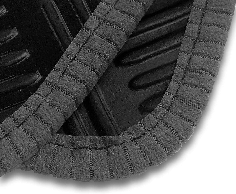 2013- Black Ribb Land Rover Range Rover Evoque Tailored Rubber Car Mats