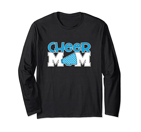 011200a36d5d Unisex Cheerleading Mom Shirt School Cheer Team Mother Gift Small Black