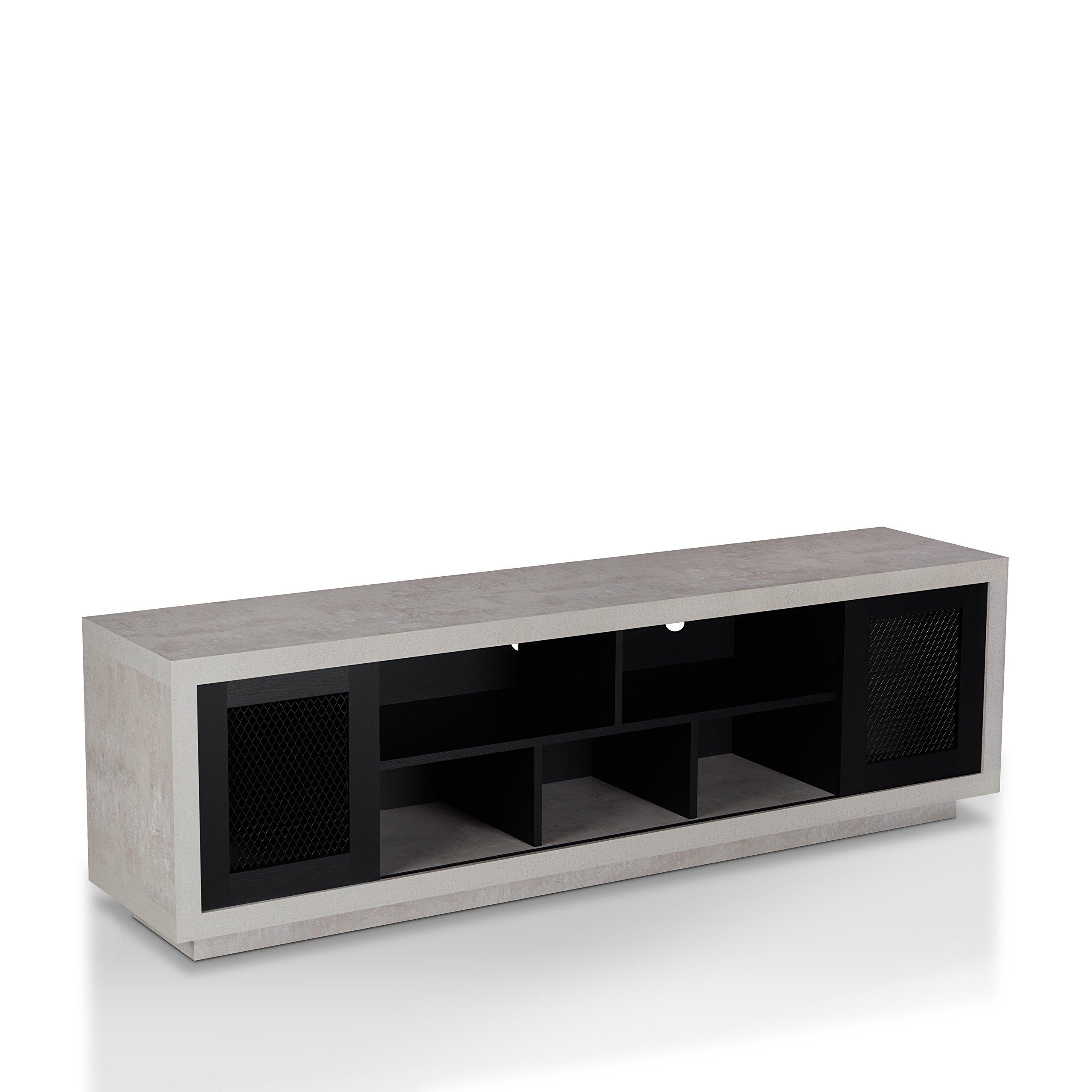 HOMES: Inside + Out FGI-1782C1 Vaike TV Stand, Black