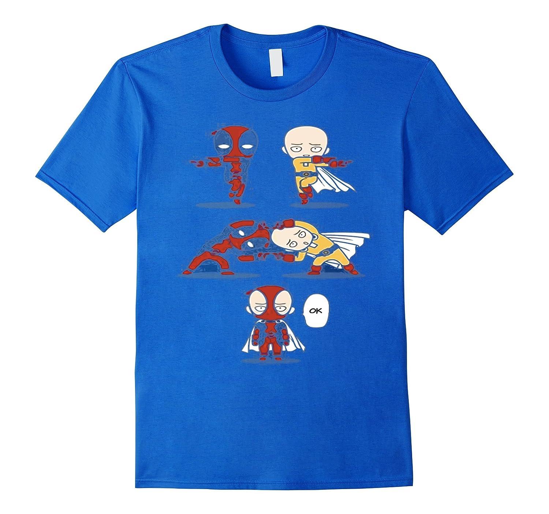 One Punch Anime SAITAMA T-Shirt2-Art