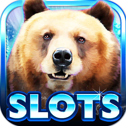 Slot Machine Bear Slots - Salmon Machine
