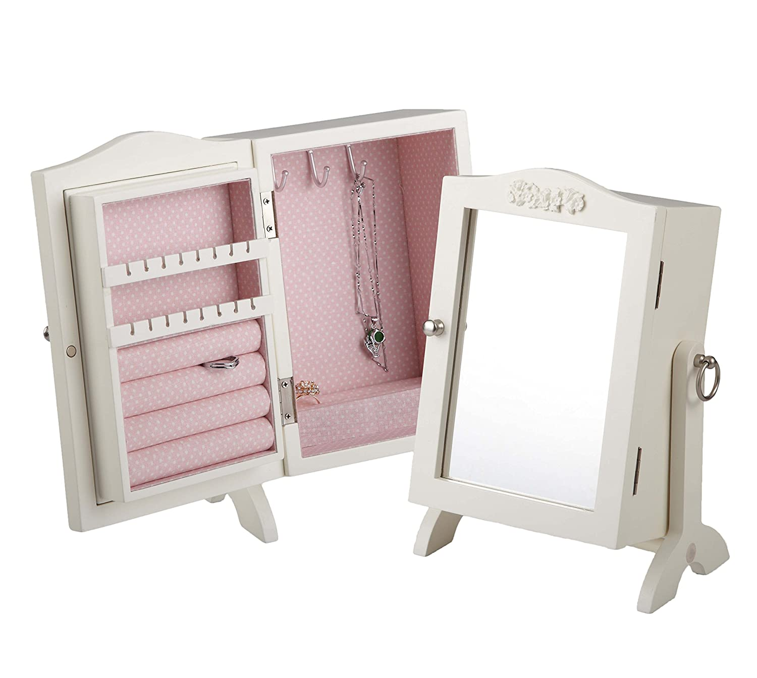 Romantic Mirror Jewelry Box