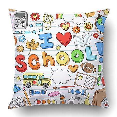 Amazon.com: Funda de almohada Emvency Throw para profesor ...
