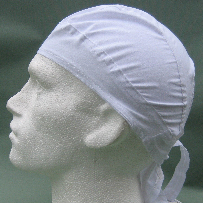 Bandana Fitted White