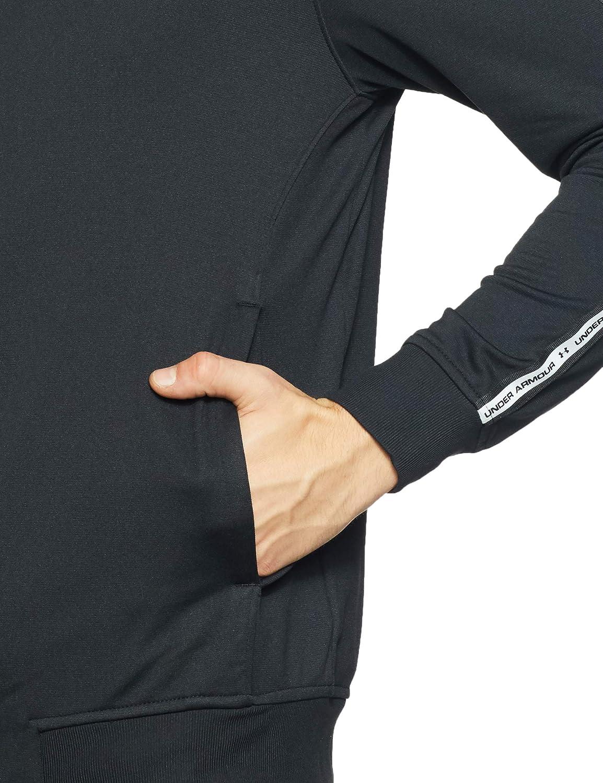 Hombre M Negro Black//White 001 Under Armour Sportstyle Tricot Jacket Parte Superior del Calentamiento