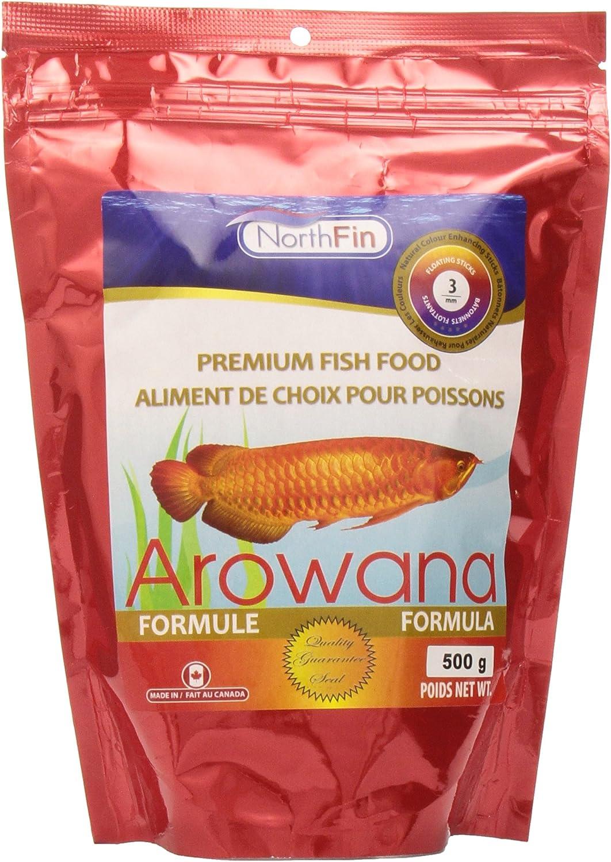 Northfin Food Arowana Formula Floating Sticks 3mm 500 Gram Package