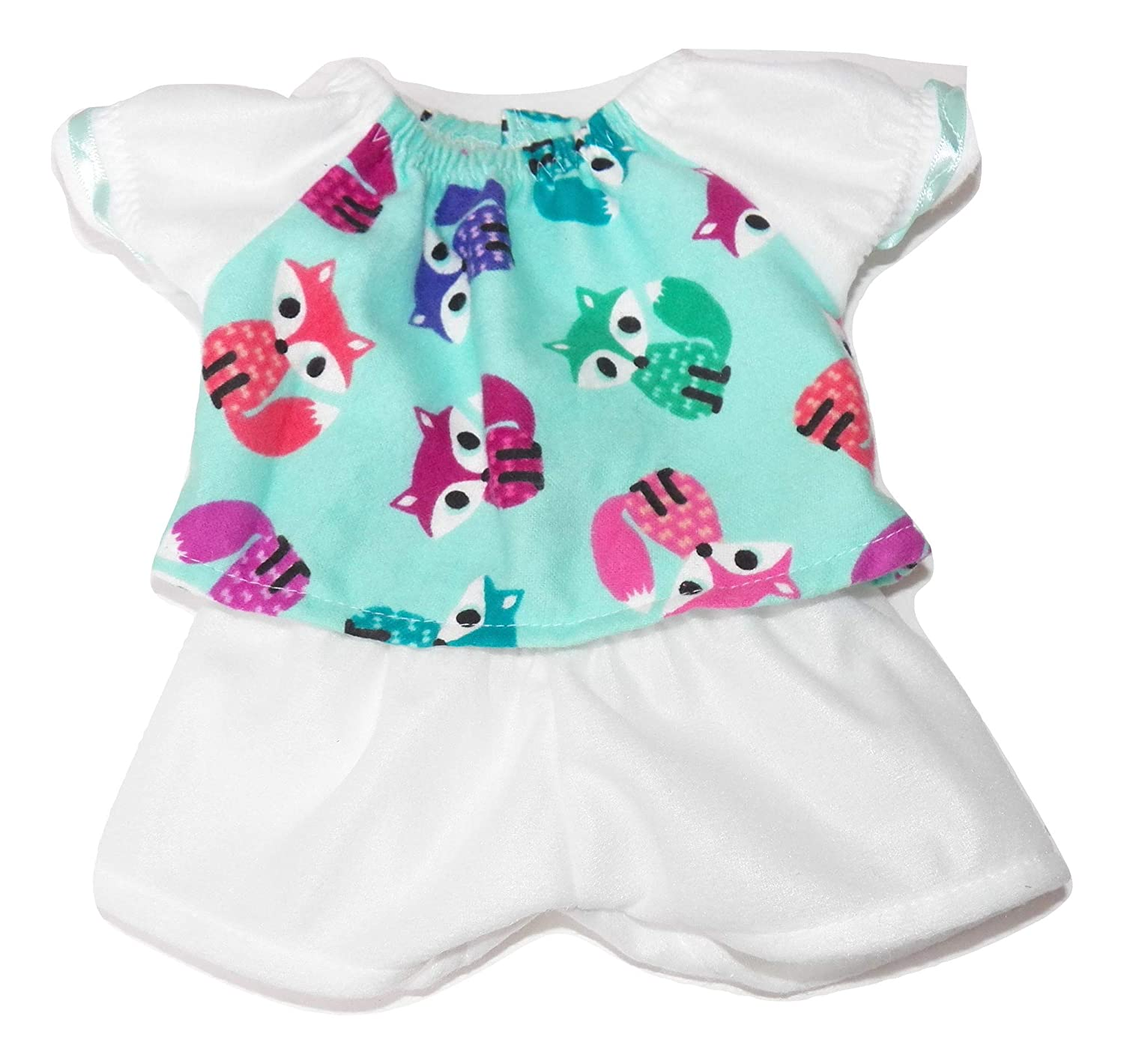 Cabbage Patch Doll Clothes Fits 14 Girl Includes One Fox Pj Top and Shorts