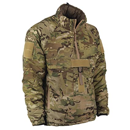 1c94a0684df Snugpak Military Mountain Leader 9 Softie Smock, Windproof Water Resistant  Jacket, Small, Multicam