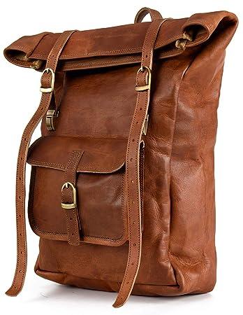 08bb6a68b3389 Rucksack Berliner Bags Leeds M aus Leder Kurierrucksack Tagesrucksack  Trekkingrucksack Wasserdicht Damen Herren Klein