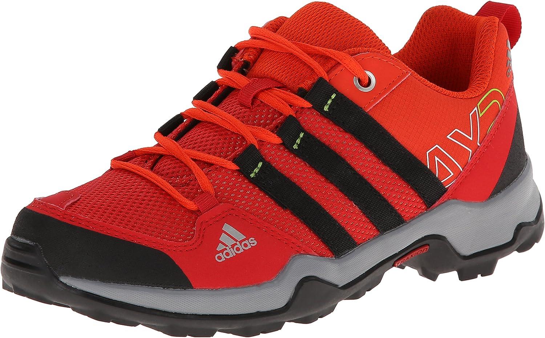 burbuja sólido apaciguar  adidas M17365 Kid's Light Scarlet/Black/Dark Orange Ax 2 K Shoes, 7/  UK:Size 6: Amazon.co.uk: Shoes & Bags