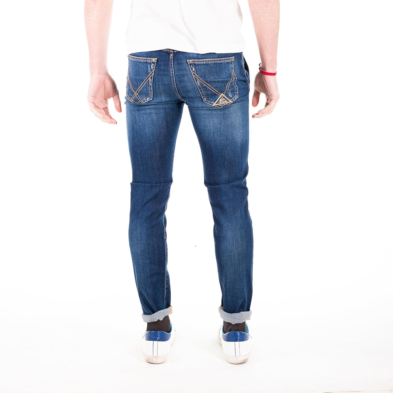 Jeans Roy Rogers slim Elast. tasca america Collyn uomo made