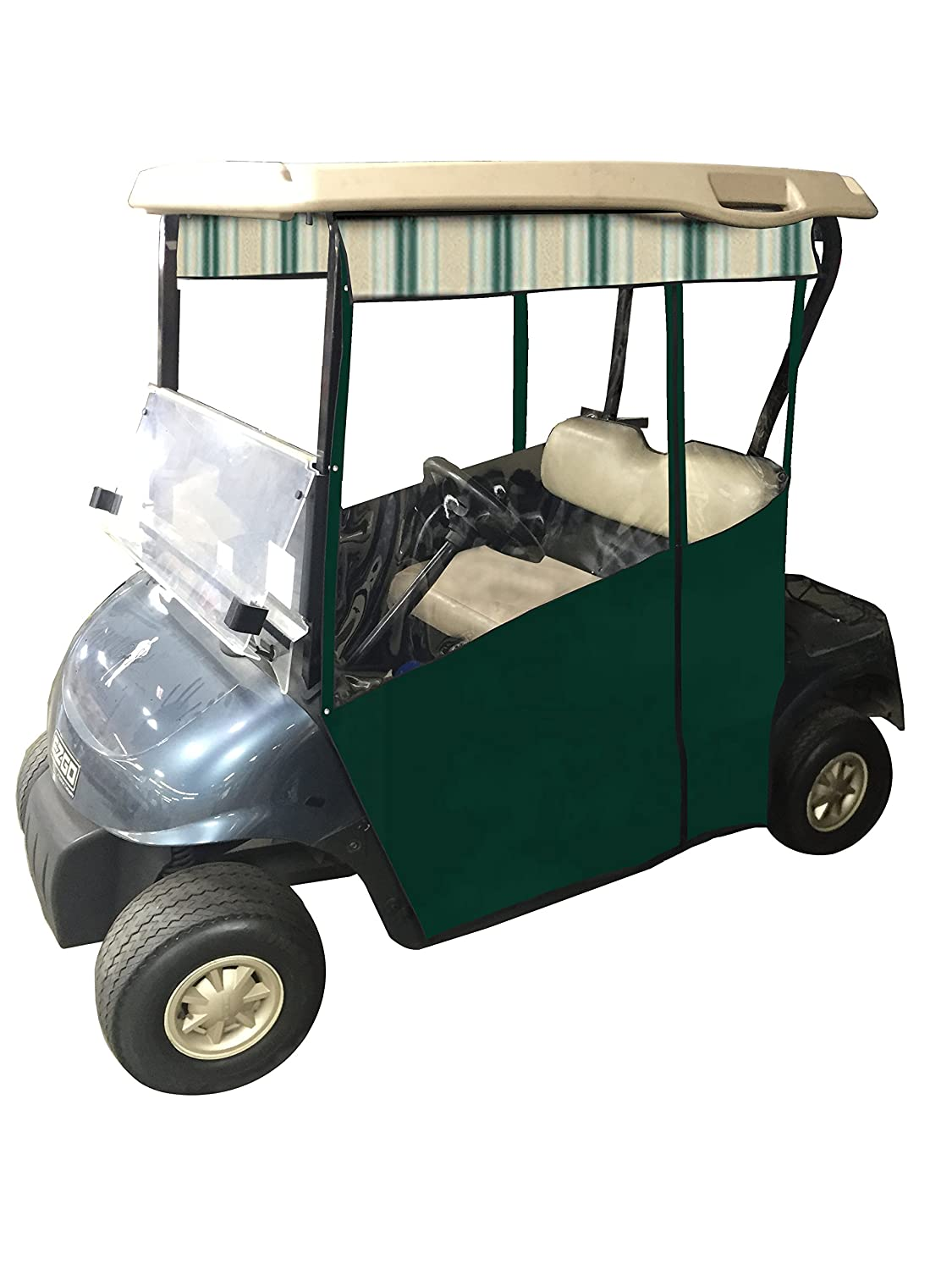 Track Style Golf Cart Enclosure In Sunbrella Canvas Yamaha G1a Wiring Diagram Slide On Cover Ezgo Txt Rxv Drive 2 G14 G19 Club Car Onward
