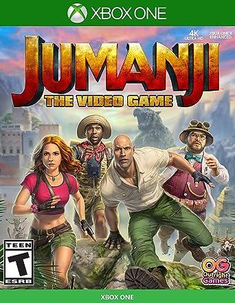 Amazon Com Jumanji The Video Game Xbox One Bandai Namco Games Amer Video Games