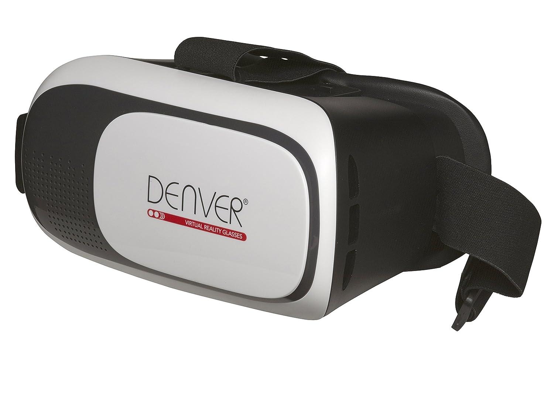para Smartphones Desde 4.7 hasta 6.5 Denver VR-21MK2 Gafas de Realidad Virtual Color Blanco