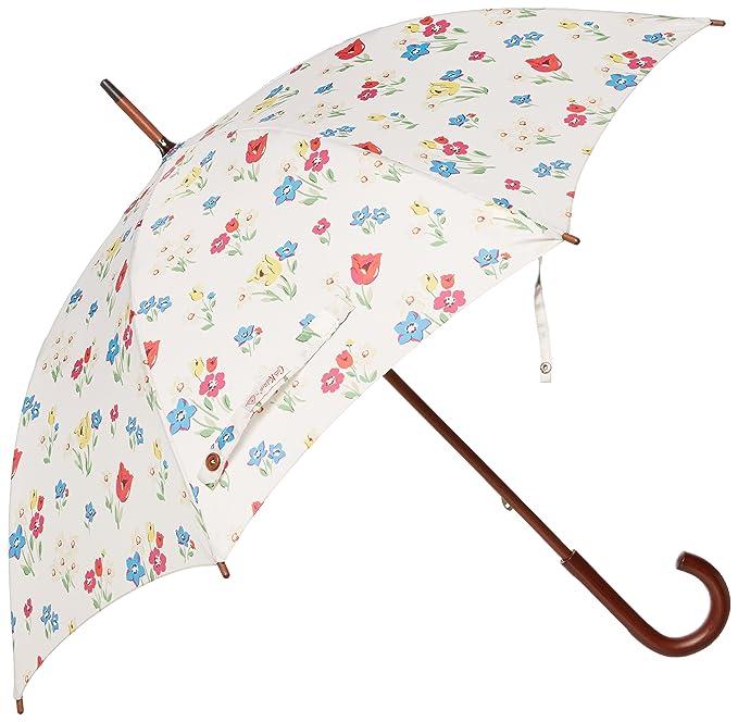 Cath Kidston Kensington 2-Paraguas Mujer, Mehrfarbig - Multicoloured (Paradise Bunch Chalk)