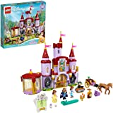 LEGO Disney Belle and The Beast's Castle 43196 Building Kit; an Iconic Castle Construction Toy for Creative Fun; New 2021 (50