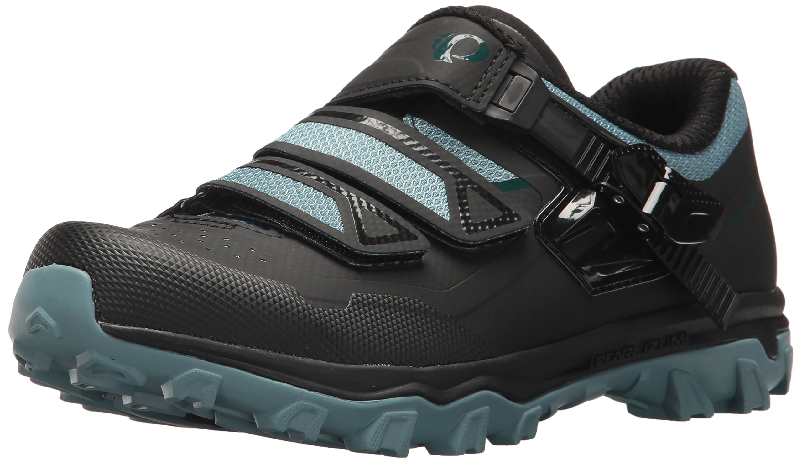 Pearl iZUMi Men's X-Alp Summit Cycling Shoe, Arctic/Black, 39.0 M EU (6.1 US)