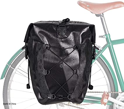 Waterproof Bicycle Backpack Nylon Cycling Bicycles Pannier Bags Bike Accessories